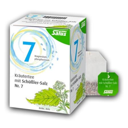 Salus Kräutertee mit Schüßler-Salz Nr 7