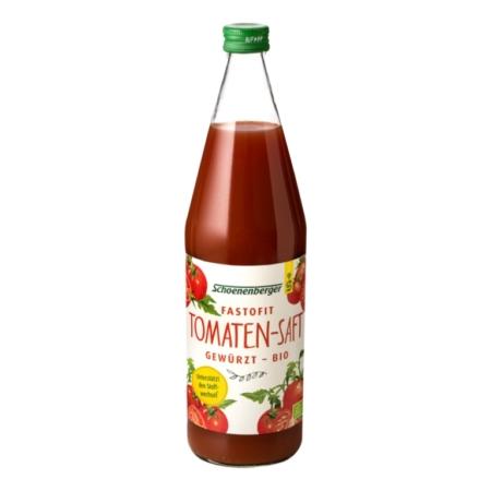 Schoenenberger FasToFit gewürzter Tomatensaft bio