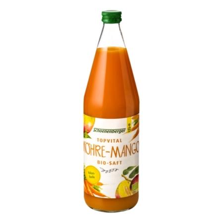Schoenenberger TopVital Möhre-Mango Bio-Saft