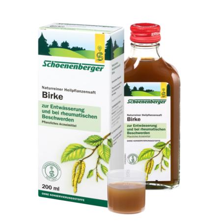 Schoenenberger naturreiner Heilpflanzensaft Birke