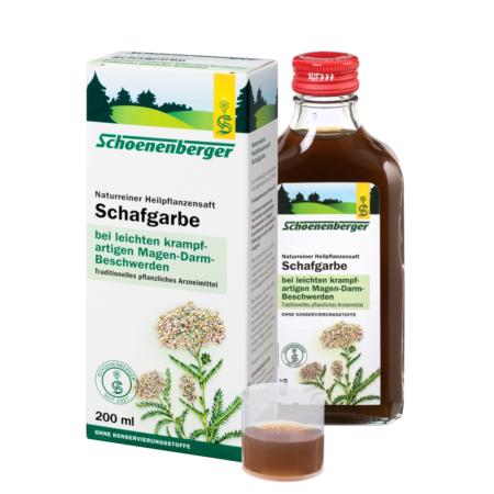 Schoenenberger naturreiner Heilpflanzensaft Schafgarbe
