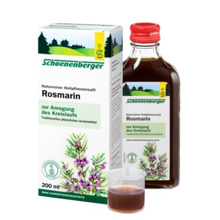 Schoenenberger naturreiner Heilpflanzensaft Rosmarin
