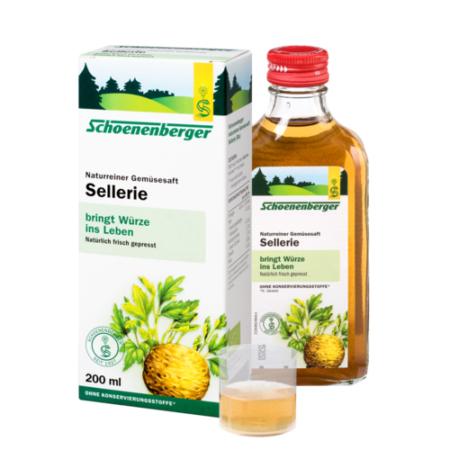 Schoenenberger Pflanzensaft Sellerie BIO