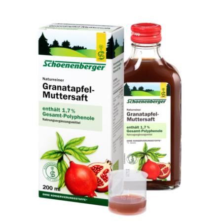 Schoenenberger naturreiner Granatapfel-Muttersaft