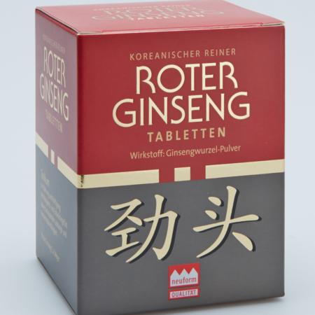 KGV Roter Ginseng Tabletten