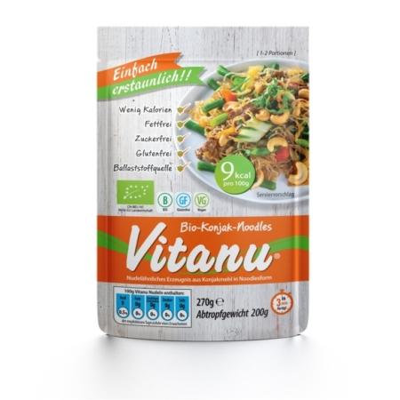 Vitanu Bio-Konjak-Noodles (270g)