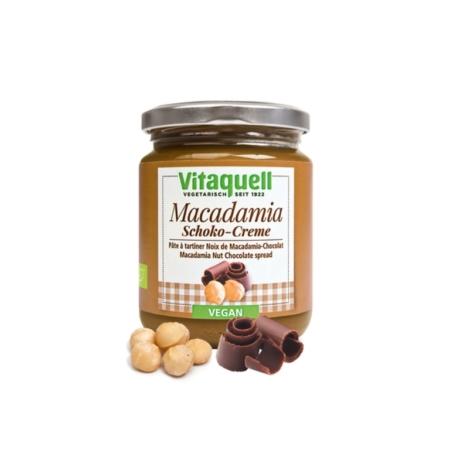 Vitaquell Macadamia Schoko-Creme bio