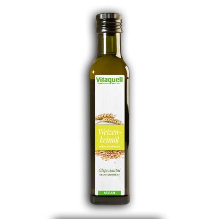 Vitaquell Weizenkeimöl standardisiert (250ml)