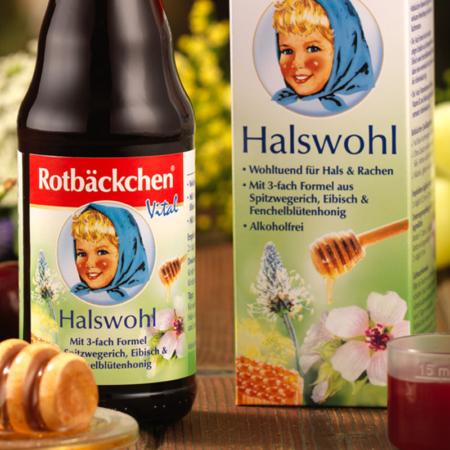 Rotbäckchen Vital Halswohl (125ml)
